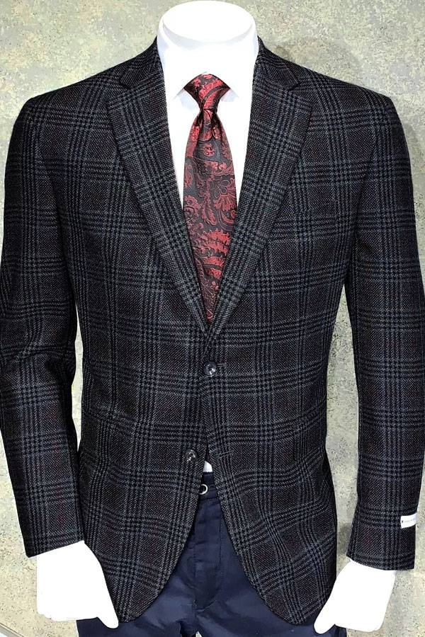 Jacket in Prince of Wales Design
