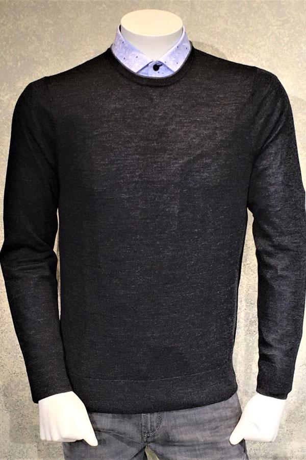 Crew Sweater in 100% Merino Wool