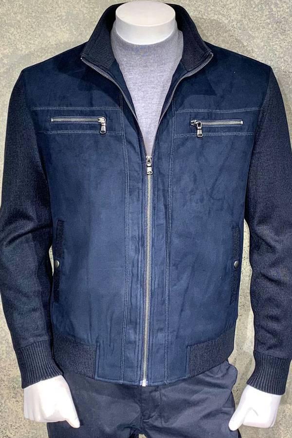 Zip Mock Outerwear Alcantara