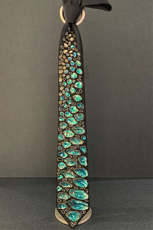 Pancaldi Unique Evening Pure Silk Tie inspired By Andy Warhol