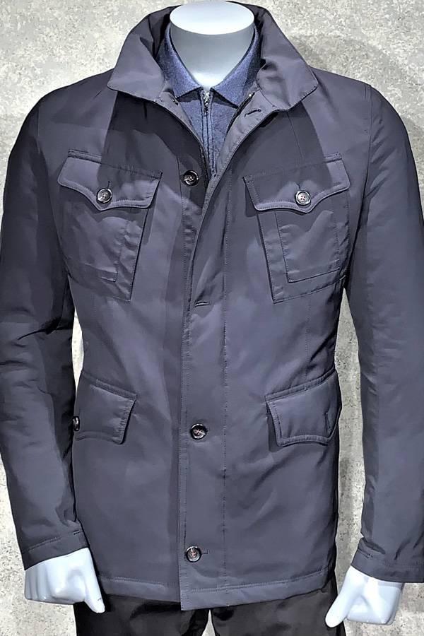 Modern Rain Wear with 4 flap pockets
