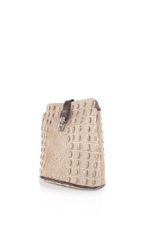 Italian Stamp Croc Crossbody Purse