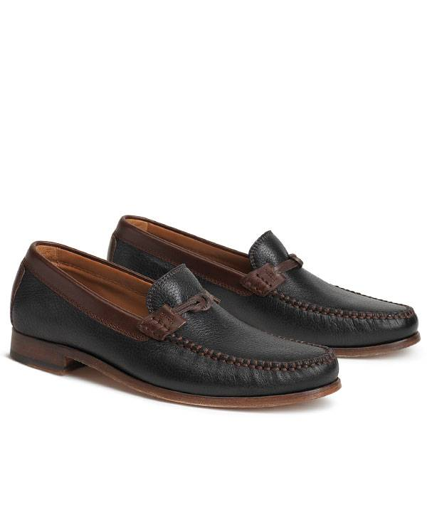 CLASSIC LOAFER, NORWEGIAN ELK. TWO TONE, VINTAGE PATINA