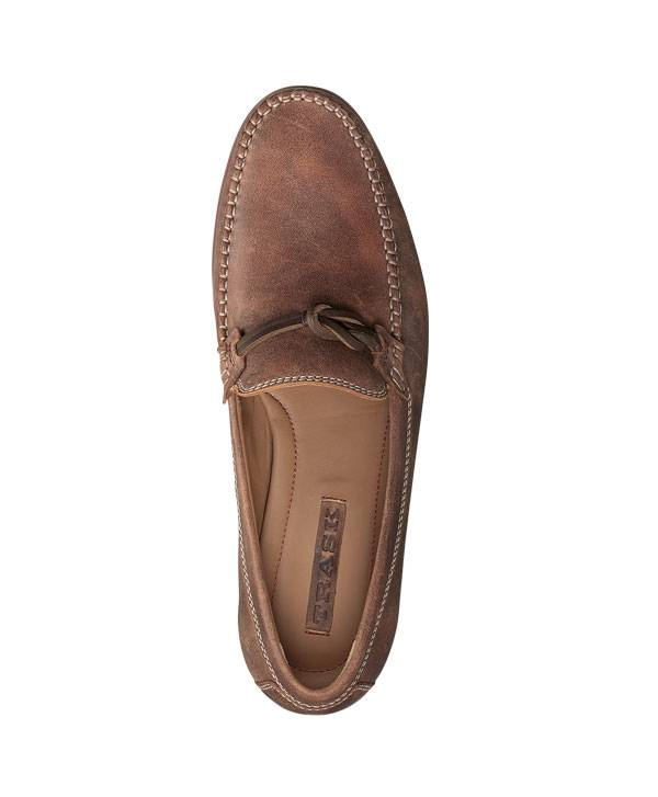 CLASSIC LOAFER, AMERICAN STEER. TWO TONE, VINTAGE PATINA