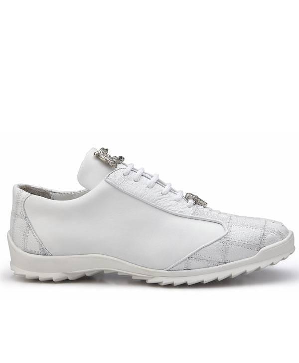 Genuine Ostrich and Soft Calf-Urban Sport Shoe
