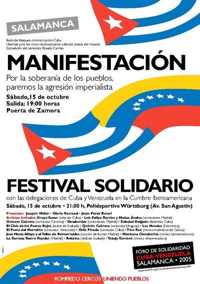 Cuba y Venezuela unidas