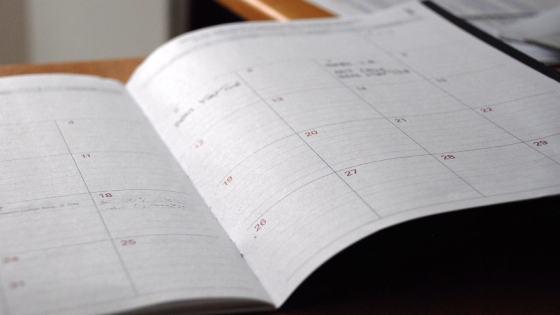 Crear calendario editorial para tu blog