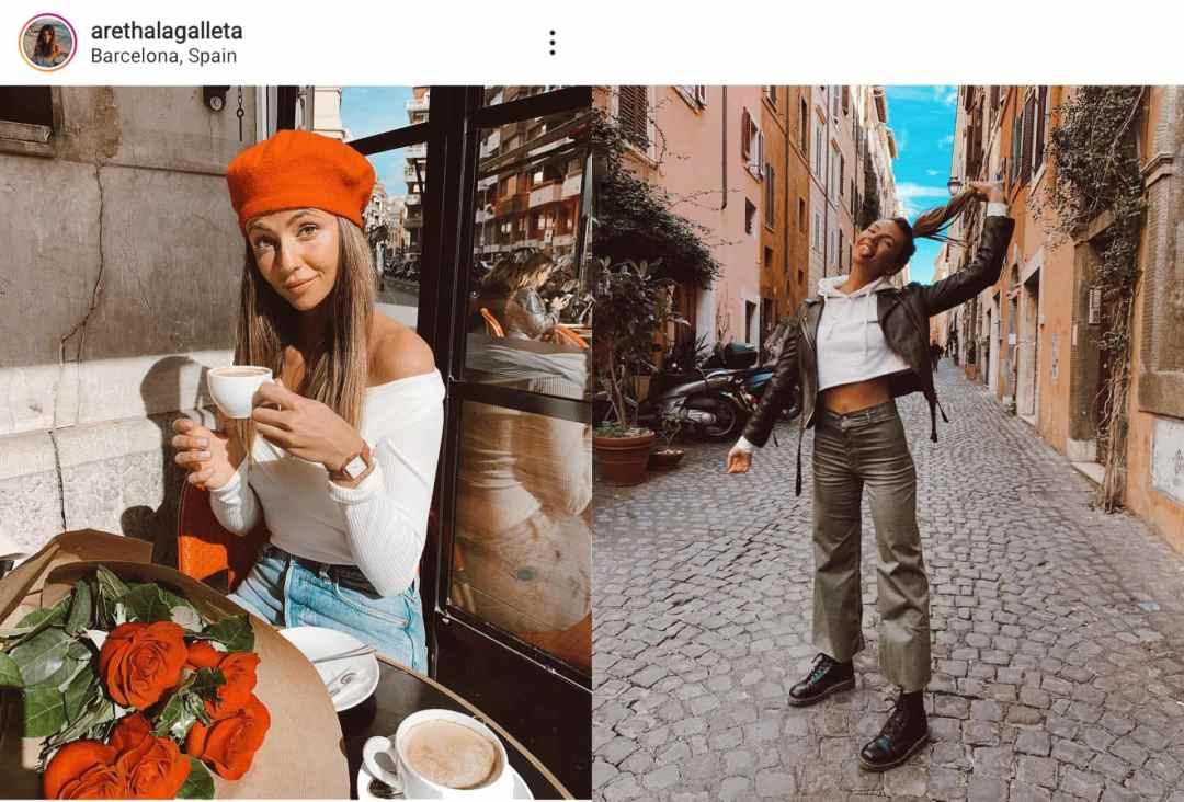 Perfil de Instagram de Aretha La Galleta