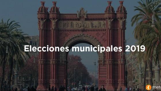 Elecciones municipales Barcelona 2019
