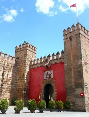 Sevilla-Spain-Real-Alcazar-entrance