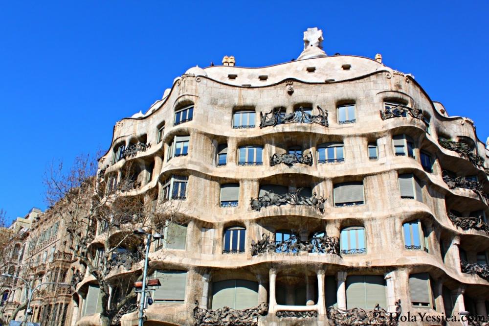 Barcelonas La Pedrera  Barcelona Blonde