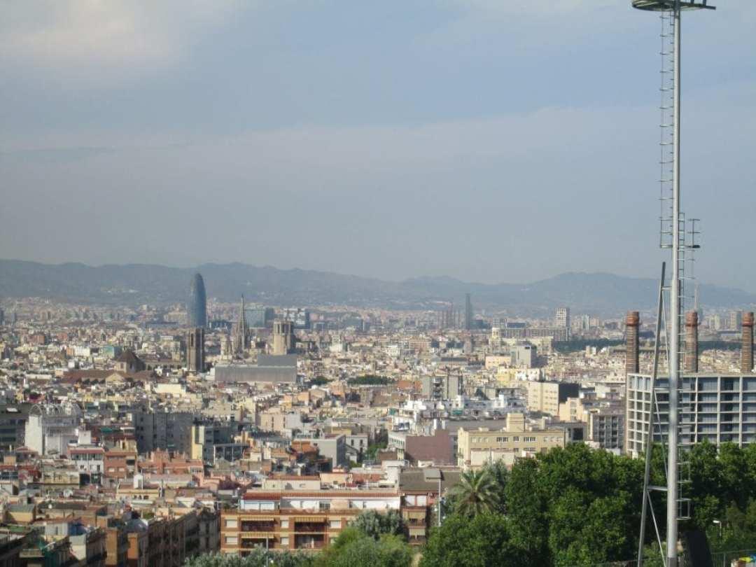 barcelona mejores vistas