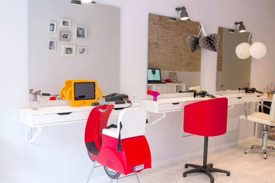 peluquería para niños Barcelona