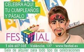 Festial ! Local fiesta cumpleaños Barcelona
