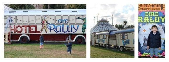 carruajes circo Raluy