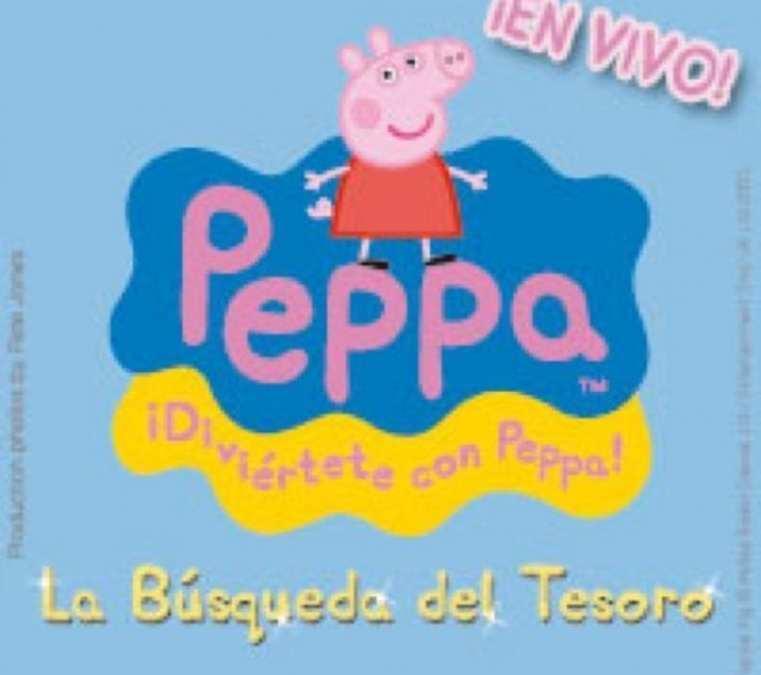 """Sorteo de entradas de """"La búsqueda del tesoro de Peppa Pig"""""""