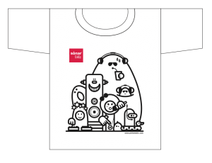 Camiseta sonar kids