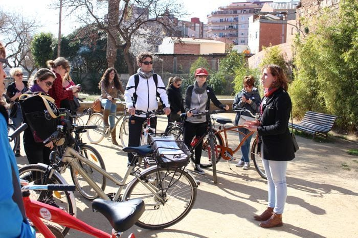 Ruta en bici por Sant Andreu del Palomar