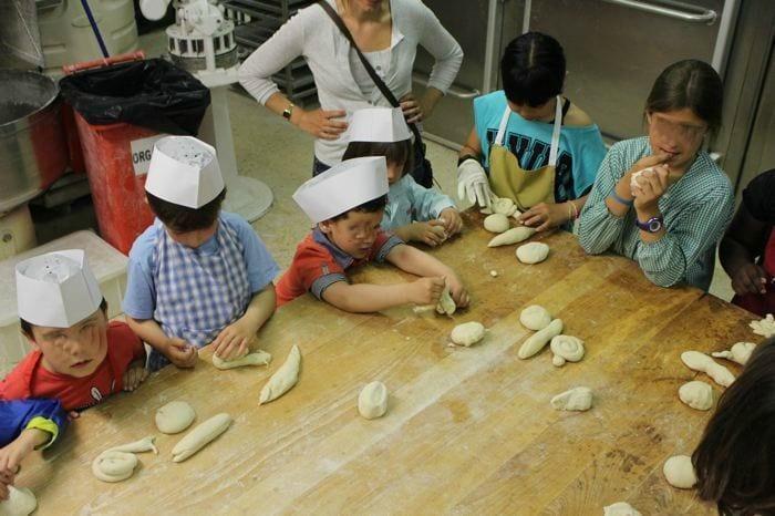 Taller de pan para niños Bopan