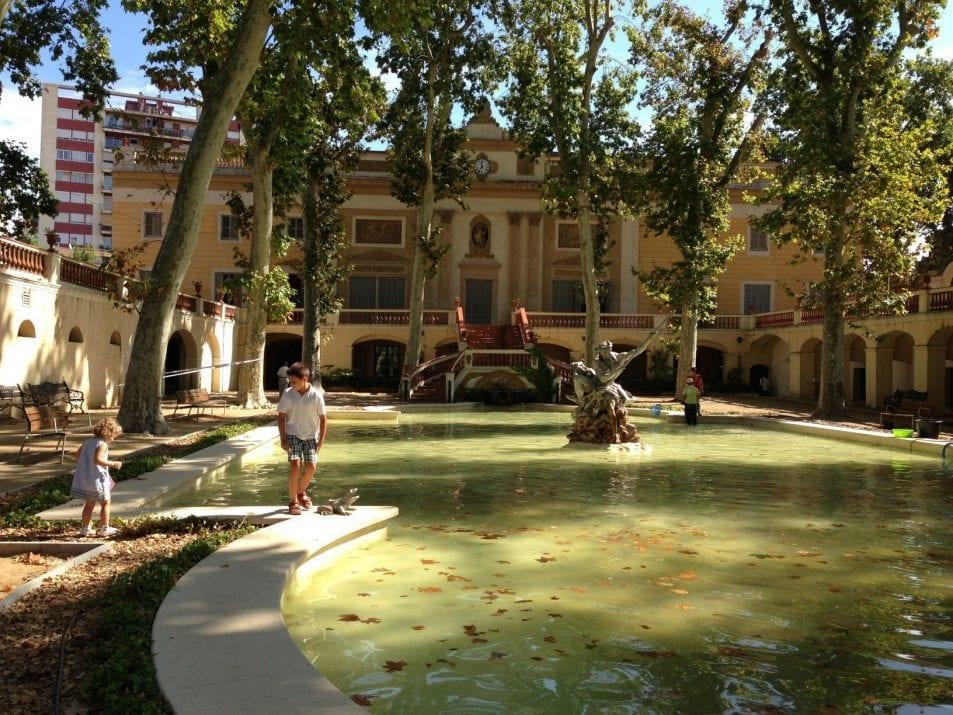 El parque del palau falguera en sant feliu de llobregat - El tiempo sant feliu de llobregat ...