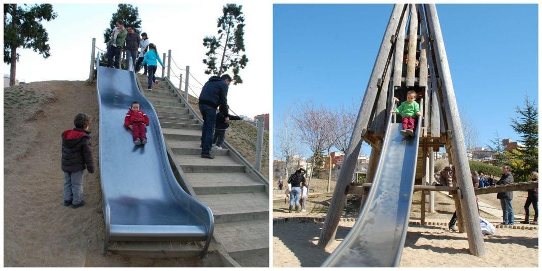 Parque francesc maci de malgrat de mar barcelona colours for Parques ninos barcelona