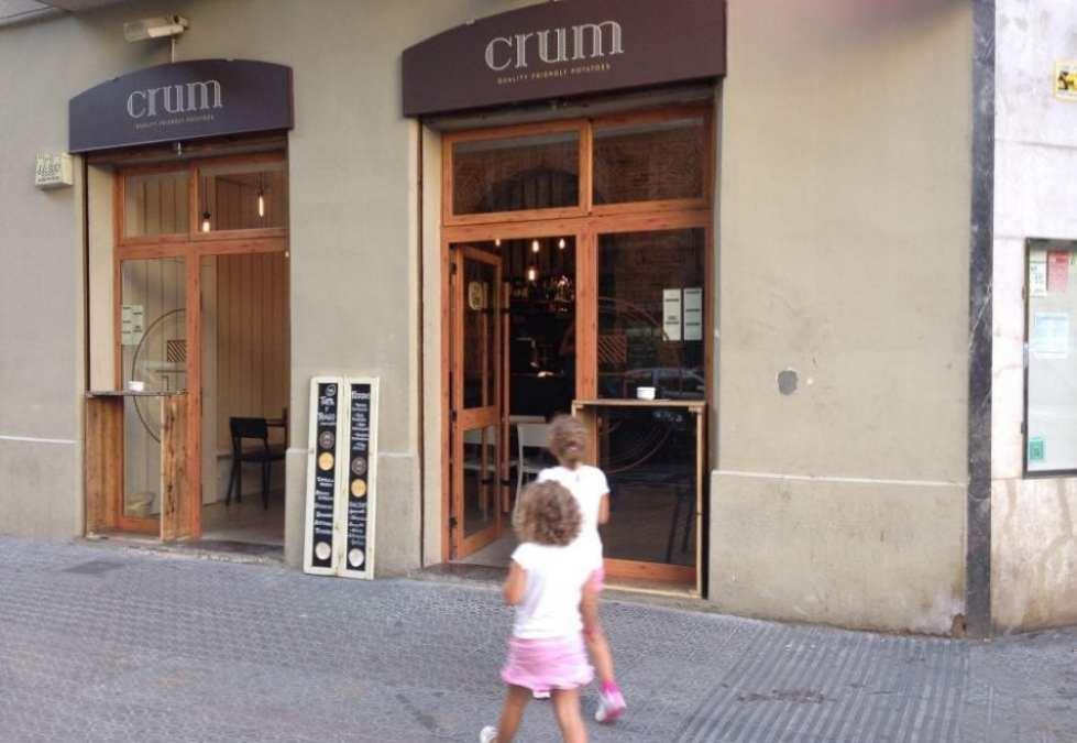 Crum, un restaurante especializado en patatas