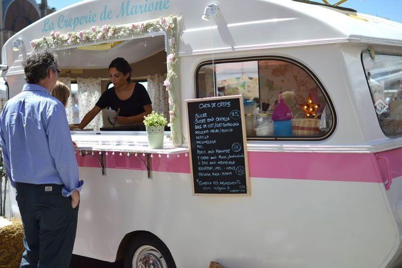 Van Van. Mercado Gastronómada en las Fiestas de la Merce
