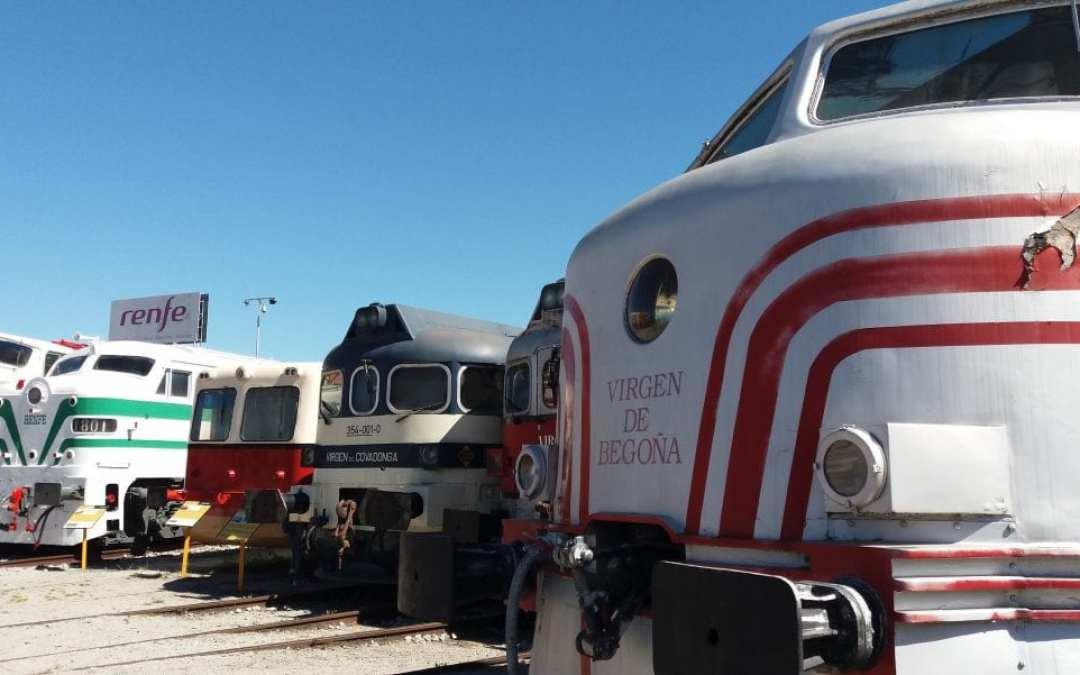 Visita al Museu del Ferrocarril de Vilanova i la Geltrú