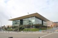Edifici de la UPC en què està ubicada la oficina de Caliope.