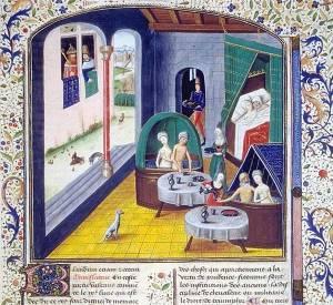 medieval bath house