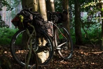 Niner bikes and Blackburn design bags in total harmony