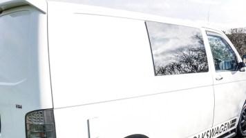 Camper van looking clean