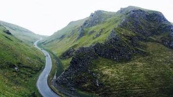 Winnat's Pass in the Peak District