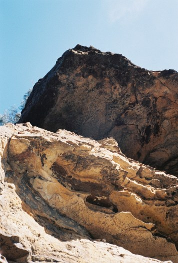 Dry landscape in Australia