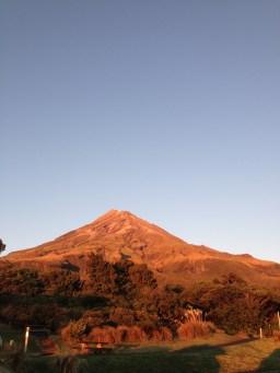 Mount Egmont in the morning light