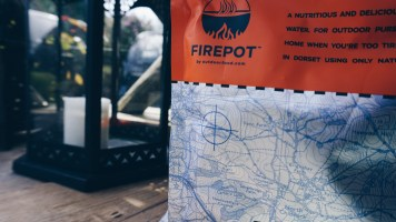 Dehydrated outdoor food packet