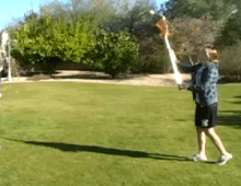 Catching with a women's stick