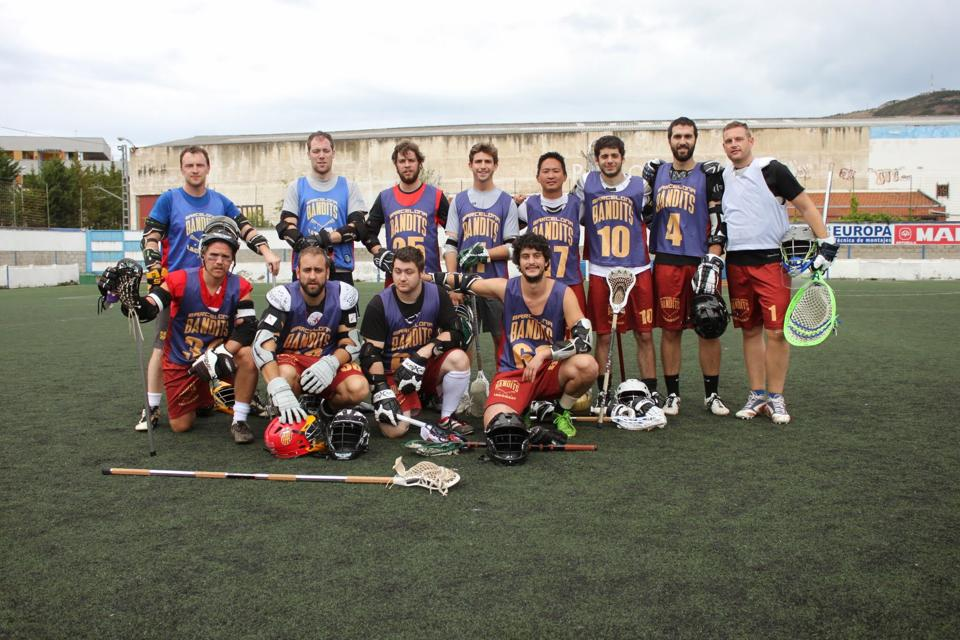 Team at the Championship game 2014/2015