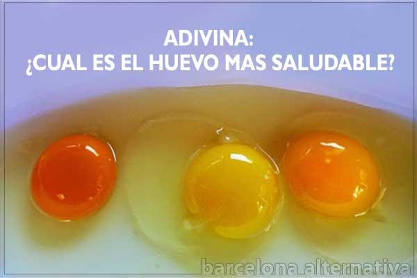 huevos saludables