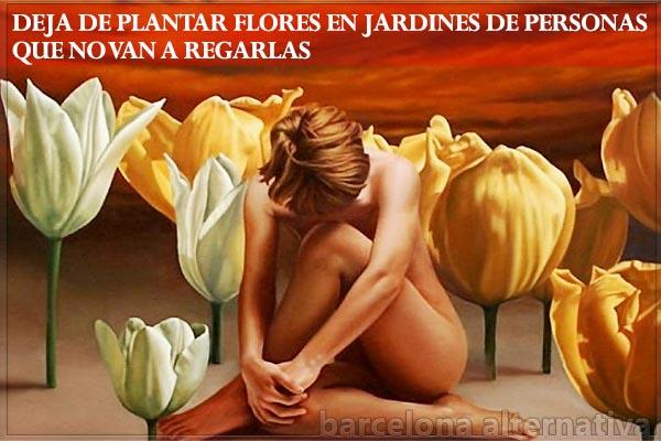 Deja de plantar flores