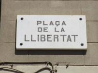 Rètol de la plaça