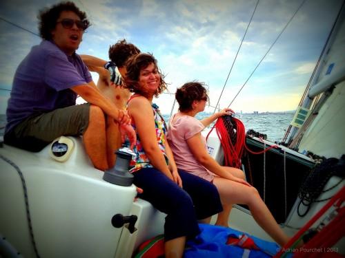 Barcelona sail good weather guarantee