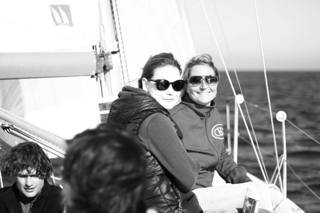 Even in the winter we sail, good weather bulletin is important.