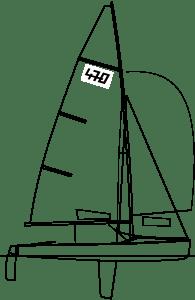 rio olympic games 470 sail boat