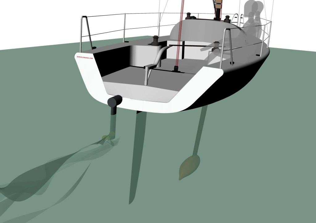 electric-drive-system-sailboat