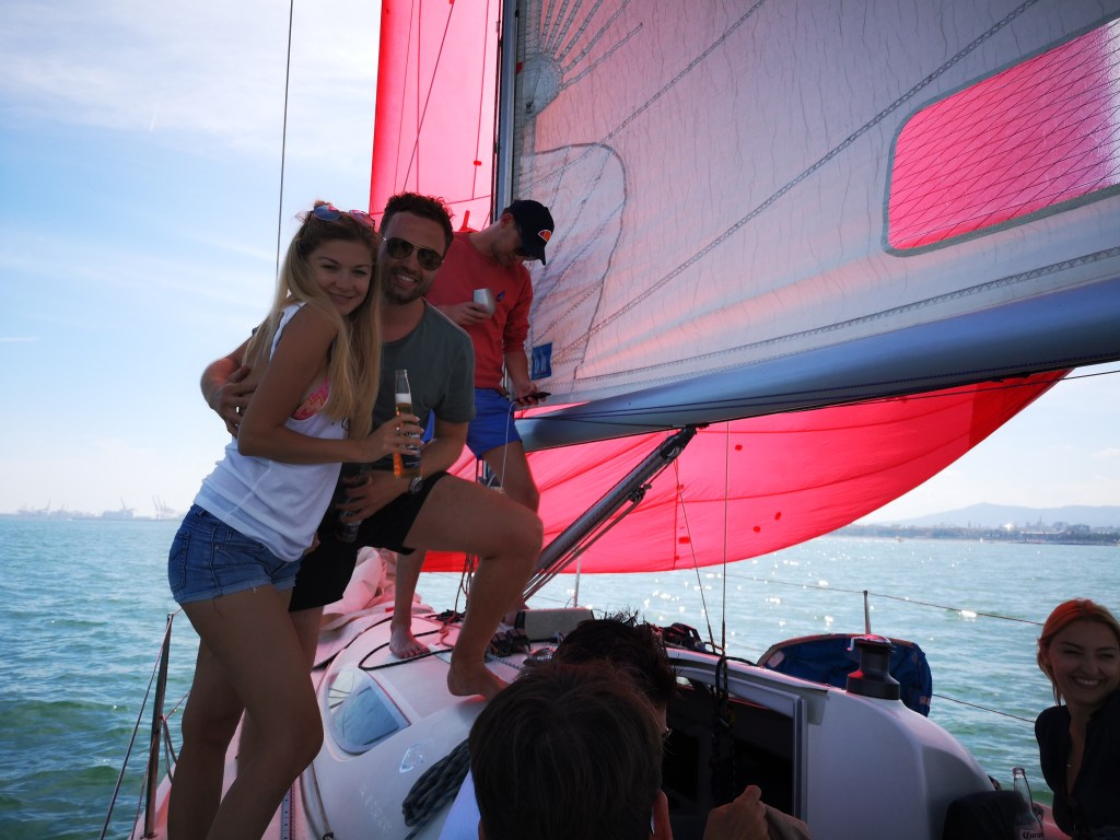 Day sailing Barcelona experience