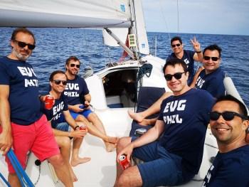Group sail tour Barcelona WMC
