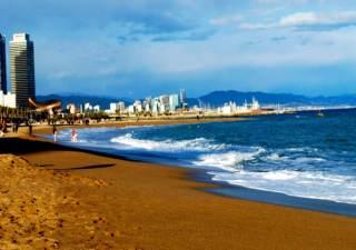 playas en barcelona