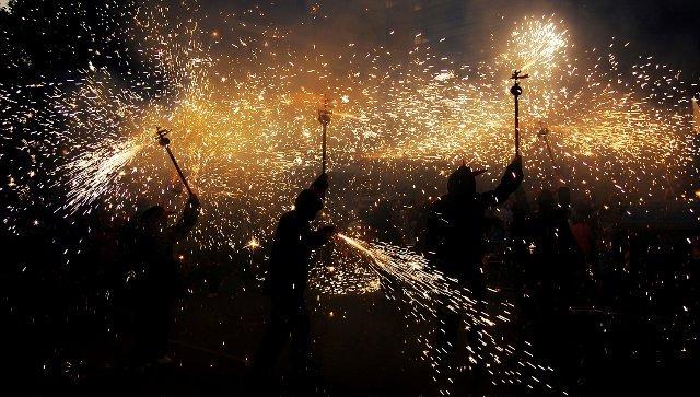 septiembre en barcelona festa poblenou