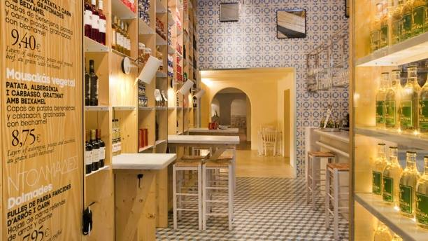 restaurantes griegos en Barcelona